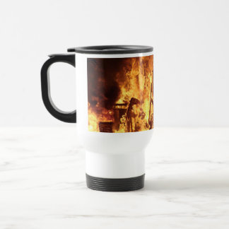 On Fire Stainless Steel Travel Mug