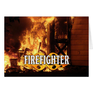 On Fire Stationery Note Card