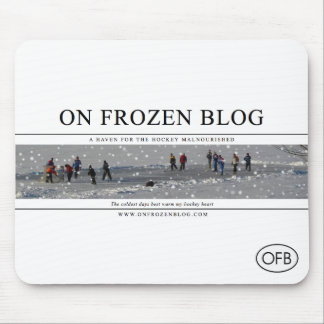 On Frozen Blog Mousepad
