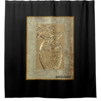 On Golden Pond! Pottery beautiful Shower Curtain