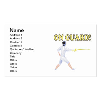 On Guard 3 Business Card