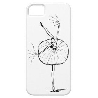 On guard ballerina iPhone SE/5/5s case