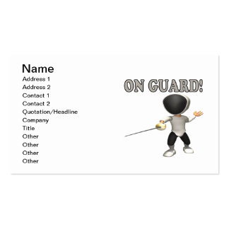 On Guard Business Card