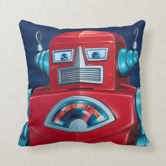 """On Guard"" Robot Pillow"