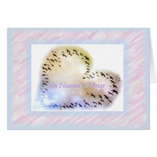 On Heaven's Wings Card