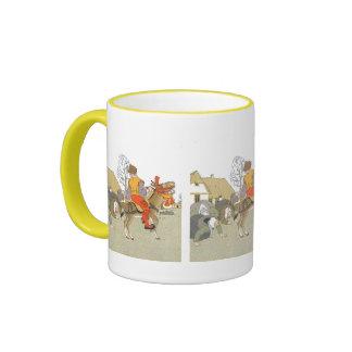 On His Donkey Coffee Mug