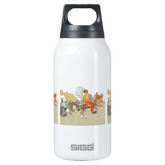 On His Donkey Thermos Water Bottle
