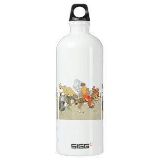On His Donkey Water Bottle