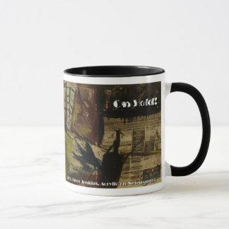on hold mug
