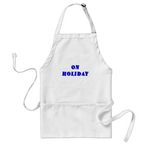 On Holiday Adult Apron