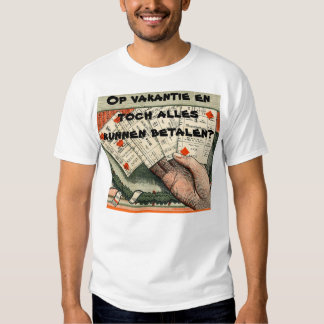 On holiday and nevertheless can pay everything? t-shirt