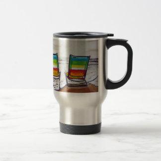On Holidays Travel Mug