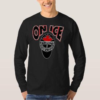 On Ice Logo-Black Mosaic T-Shirt