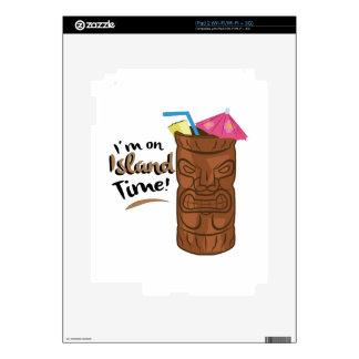 On Island Time Skin For iPad 2