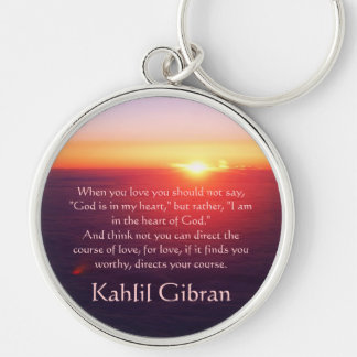 On Love - The Prophet by Kahlil Gibran Keychain