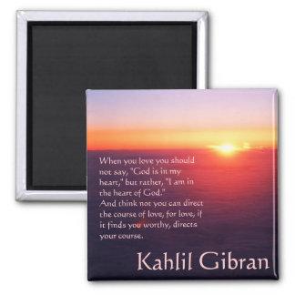 On Love - The Prophet by Kahlil Gibran Magnet
