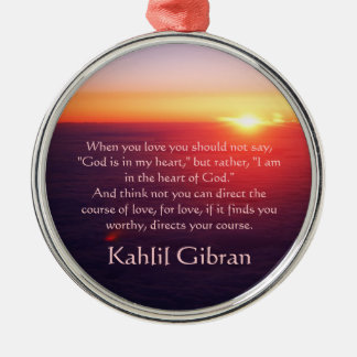 On Love - The Prophet by Kahlil Gibran Ornaments