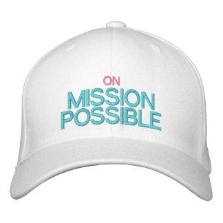 ON MISSION POSSIBLE Cap by eZaZZleMan