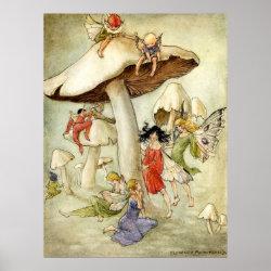 'On Mushroom Hill' - Print