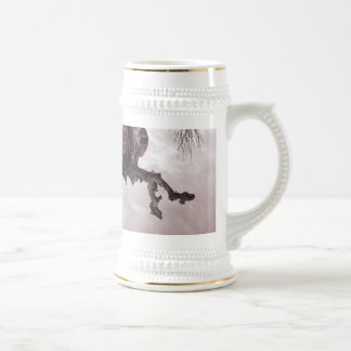 on my back beer stein