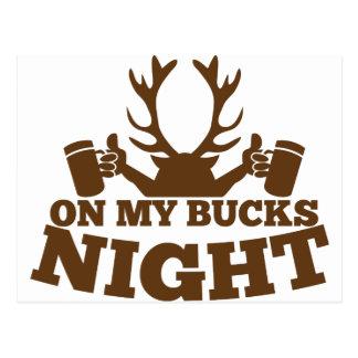 on my bucks night postcard