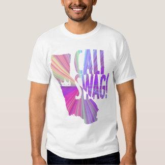 On my Cali Swag T-shirt