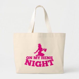 On my HENS NIGHT with pink lady Canvas Bag