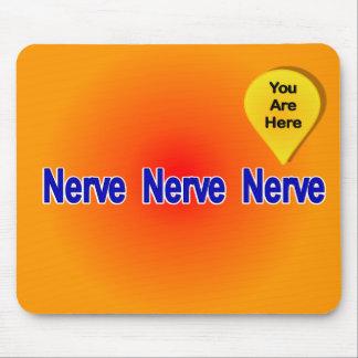 On My Last Nerve Mouse Pad