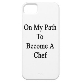 On My Path To Become A Chef iPhone 5 Case