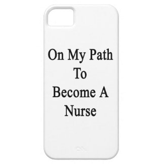 On My Path To Become A Nurse Cover For iPhone 5/5S