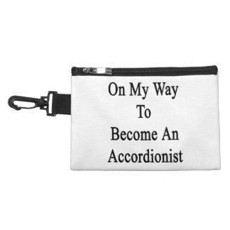 On My Way To Become An Accordionist Accessories Bag