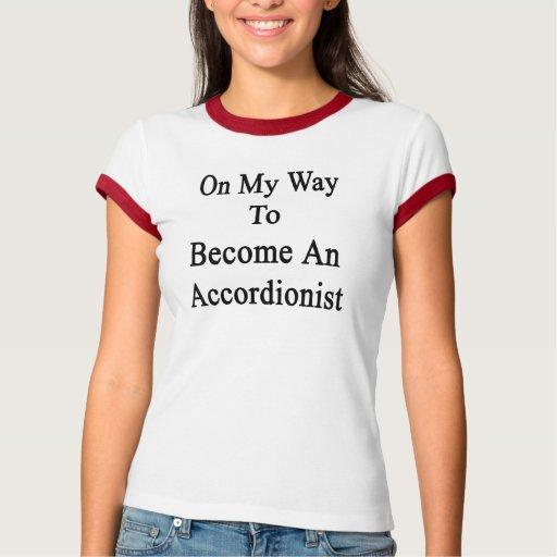On My Way To Become An Accordionist Tee Shirts