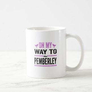 On My Way To Pemberley Coffee Mug