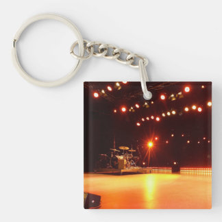 On of steam turbine and gas turbine systems Double-Sided square acrylic keychain