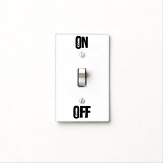 ON-OFF switch Switch Plate Cover