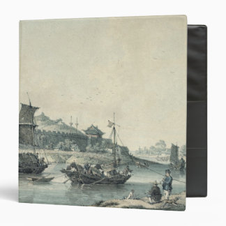 On one of the rivers of China 3 Ring Binder