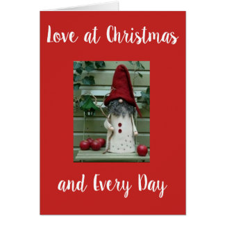 """ON OUR ****1st CHRISTMAS**** TOGETHER WITH """"LOVE"""" Card"""
