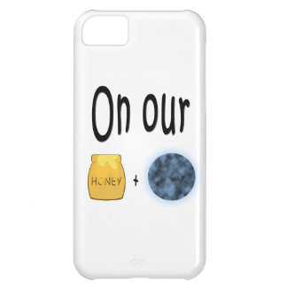 On our Honeymoon Honeypot and Moon Case For iPhone 5C