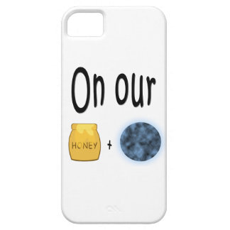 On our Honeymoon Honeypot and Moon iPhone SE/5/5s Case