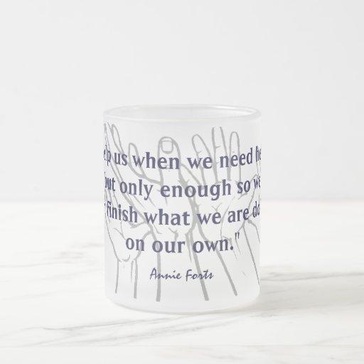 On our own mug