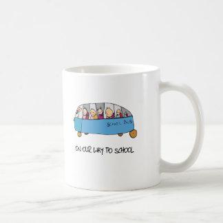 On Our Way To School Coffee Mug