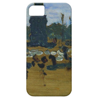 On Palace Square in St. Petersburg by Ilya Repin iPhone SE/5/5s Case
