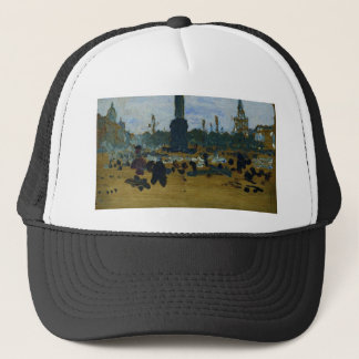 On Palace Square in St. Petersburg by Ilya Repin Trucker Hat