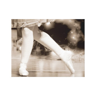 On Pointe Canvas Print