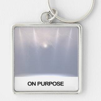 On Purpose Keychain