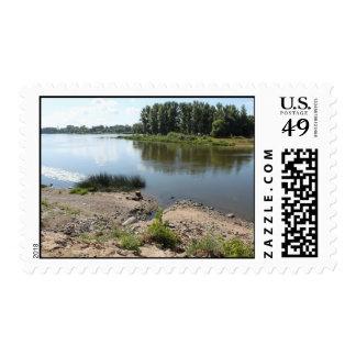On river Kotorosl in Yaroslavl Postage Stamp