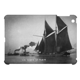 On River St. Clair Vintage Louis Pesha 1900 Cover For The iPad Mini