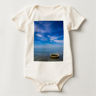 On shore of the Baltic Sea Baby Bodysuit