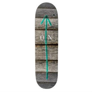 ON! Skateboard Deck