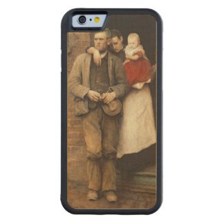 On Strike, c.1891 Carved Maple iPhone 6 Bumper Case